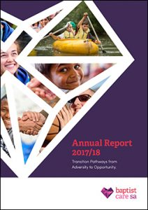 Baptist Care SA Annual Report 2017/18